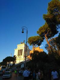 欧州出張2018年09月-イタリア・ローマー第八日目-ローマの夕暮れとディナー - 海外出張-喜怒哀楽-