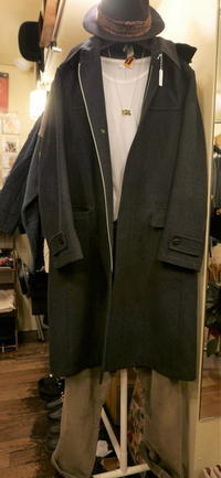 Men's Yohji coat - carboots