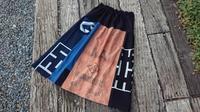 粉袋入りギャザースカート - 古布や麻の葉