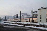 山形新幹線のねぐら - 新幹線の写真