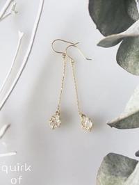 水晶原石✨夢を叶えるハーキマーダイヤモンドピアス・イヤリング✨ - アームブランシュ オフィシャルブログ