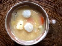手作り白味噌のお雑煮 - ナチュラル キッチン せさみ & ヒーリングルーム セサミ