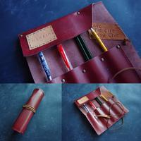 Winered Roll pencase for Misato Kaneko - YONABE