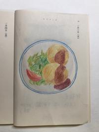 今日の絵「コロッケ定食」 - vogelhaus note
