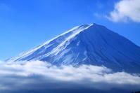30年12月の富士(23)河口湖の富士 - 富士への散歩道 ~撮影記~