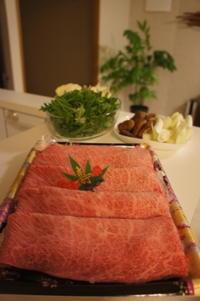 【すき焼き】 - モンスーンの食卓日記
