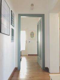 玄関周りの様子と靴収納。 - イタリア空間