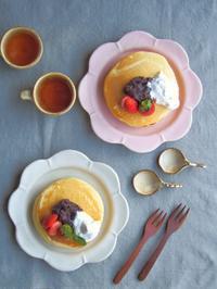 パンケーキの朝ごはん - 陶器通販・益子焼 雑貨手作り陶器のサイトショップ 木のねのブログ