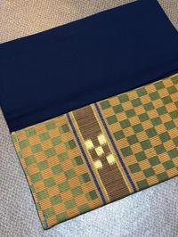 八重山みんさー織り クラッチバッグ (1824) - natural essence : EKO PROJECT