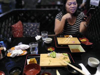 Amasingly satisfactory Japanese cooking for our wedding anniversary (3rd Jan) at Han-nya (Cebu) - SONGS