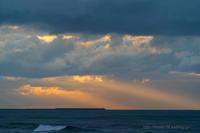 冬の日本海 夕景 - デジタルで見ていた風景