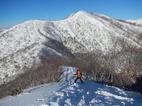 やっと山でテレマーク…大日ケ岳 - 山にでかける日