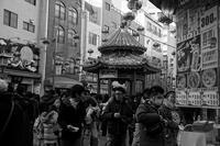 モノクロの南京町 - kisaragi