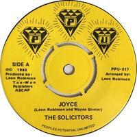 The Solicitors ‎– Joyce - まわるよレコード ACE WAX COLLECTORS