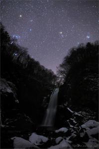 ウィルタネン彗星 と 秋保大滝 滝行2 - 遥かなる月光の旅