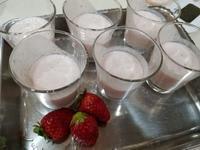 苺のムース - ギャラリー 茶房 - 侘助 -