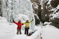 冬ロッキーの魅力全てをあなたに。登りに滑りに盛りだくさんツアー。【1/1/2019】 - ヤムナスカ Blog