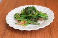 小皿つまみ*ほうれん草の梅和え - 小皿ひとさら