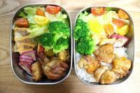 鶏の照り焼き弁当と同級会 - オヤコベントウ