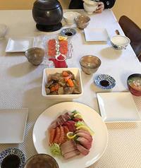 お正月の食事 - 私の好きなこと in ロサンゼルス