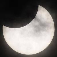 今日の天体ショーは部分日食 - 立川は Ecoutezbien  えくてびあん