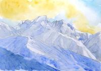 八ヶ岳冬景色 - ryuuの手習い