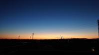 1月7日の夜明け - ヒグラシの日記  (あぁ、しあわせな日々)