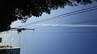空を見上げたら・・・!!? - 太田 バンビの SCRAP BOOK