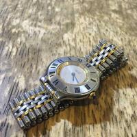 Cartier カルティエマスト21クオーツ時計の修理 - トライフル・西荻窪・時計修理とアンティーク時計の店