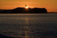 第887回  Enoshima sunrise - 湘南群青 -The sunset  blue -