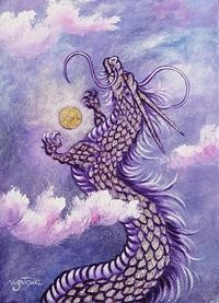 昇り龍の絵 - 油絵画家、永月水人のArt Life