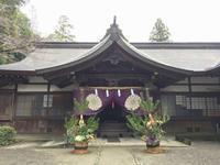丹生川上神社へ新春のご祈願 - くわみつの和み時間
