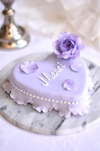 ハートのシュガーケーキレッスン2月クラス増設のお知らせ - Misako's Sweets Blog