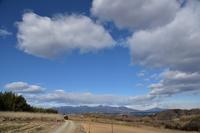 桑畑と榛名山 - 光画日記