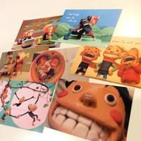 ポストカード企画参加 - Atelier SANGO