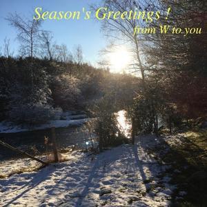 日々の色合い、記憶の断片 2018 → Season's Greetings - W 「vin & vino, wines of the world, with you!」