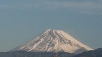 1月8日我が家から見た富士山と、お一人様万一の備え -   心満たされる生活