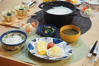 七草粥の晩ごはん☆ - 365のうちそとごはん*:..。o○☆゚