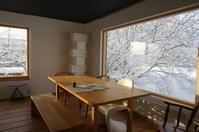今朝の窓辺風景 - 函館の建築家 『北崎 賢』日々の遊びと仕事