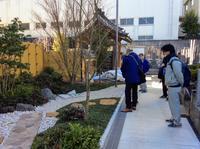 本日、区役所緑化完了検査 - 設計事務所 arkilab