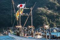 漁港の休日 - シセンのカナタ