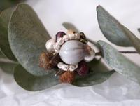 ✢︎ナッツアクセサリーレッスンのお知らせです✢︎ - driedflower arrangement ✦︎ botanical accessory ✦︎ yukonanai ✦︎ gland*