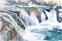 渓流の小滝 - ryuuの手習い