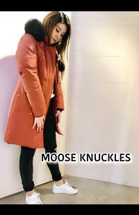 カナダ発「MOOSE KNUCKLES ムースナックルズ」ロング丈コート再入荷です。 - UNIQUE SECOND BLOG