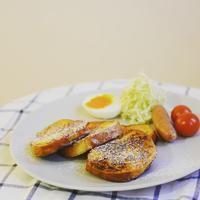朝ごはん〜フレンチトースト〜 - 料理教室 あきさんち