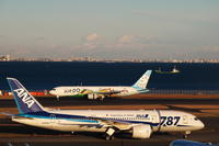 HND - 492 - fun time (飛行機と空)