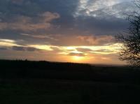 遅くなりましたが、初日の出 - イギリス ウェールズの自然なくらし