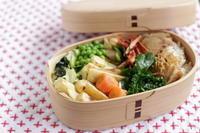 お野菜たっぷり、今日のお弁当 - キラキラのある日々