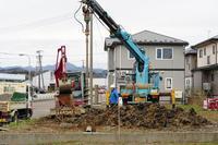 ゼロ・エネルギー住宅「FPの家・赤沼下」地盤改良工事 - エコで快適な『FPの家』いかがですか!