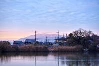 大焼けの朝心ここにあらず-1 @ 水上池 - 東大寺が大好き